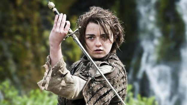 ¿Y Arya Stark (Juego de Tronos)?