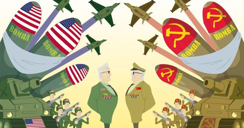 ¿Un ciudadano de clase media en EE.UU en los años 60 o un ciudadano soviético en los años 60?
