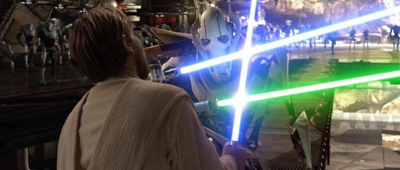 ¿Obi-Wan Kenobi o Grievous?