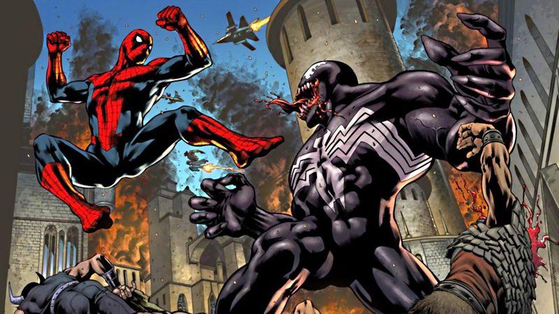 ¿Spider-man o Venom?