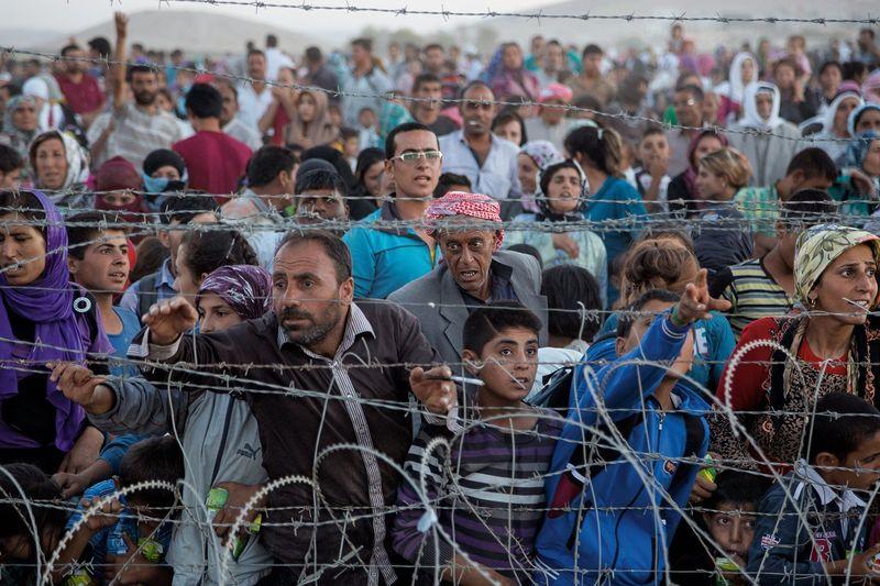 ¿Dejarías entrar a tu país refugiados que perdieron sus casas y sus vidas en las guerras?
