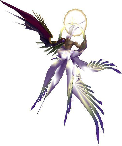 ¿Cómo se llama el ataque más poderoso que hace Sefirot en su forma final: SEGURO-Sefirot?