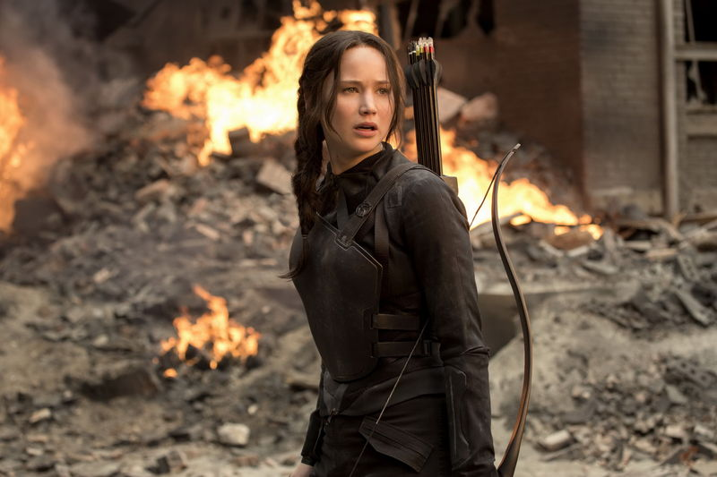 ¿Y Katniss (Los juegos del hambre)?