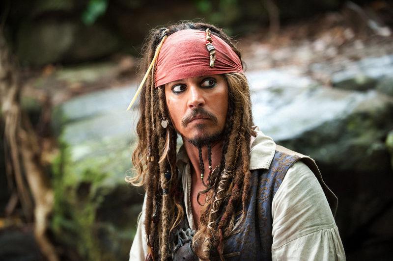 ¿Y Jack Sparrow (Piratas del Caribe)?