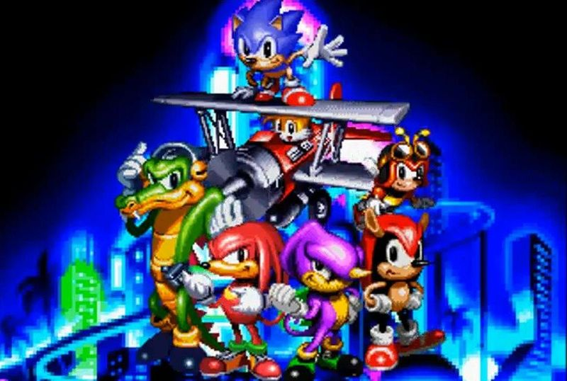 Knuckles' Chaotix (1995)