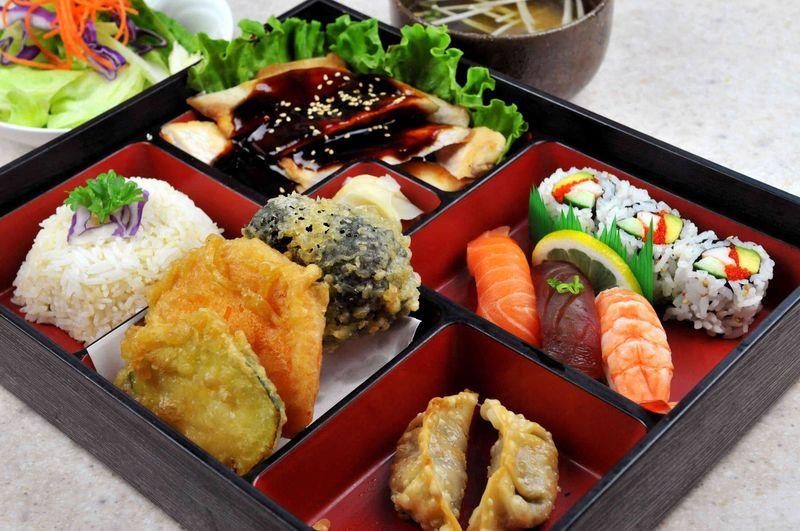 ¿Cuánto pagarías por un menú completo japonés? (Como el de la imagen)
