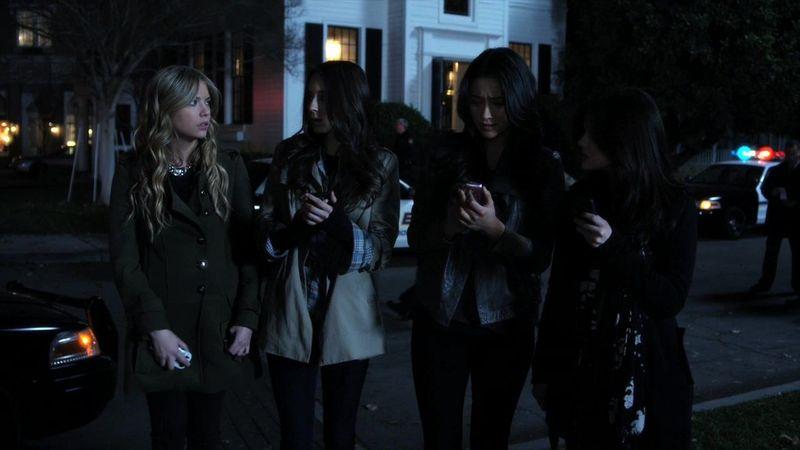 ¿Qué liar fue la primera en recibir un mensaje de A (Alison no cuenta)?