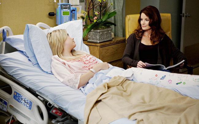 ¿Cómo terminó Hanna en el hospital?
