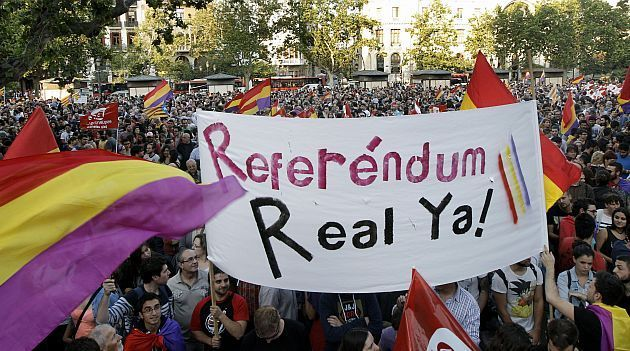 ¿Estás de acuerdo en que se celebre un Referendum para decidir sobre la Monarquía o la República?