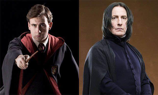 Snape revive, Neville muere