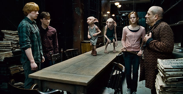 Revives a Dobby, pero Ron Weasley muere