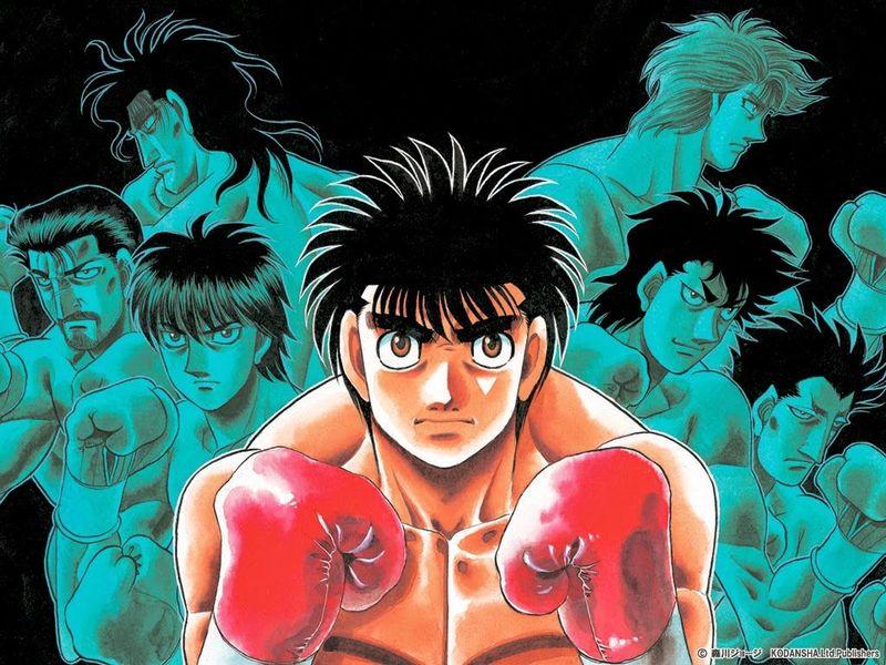 25447 - Hajime no Ippo ¿Quién ganaría?