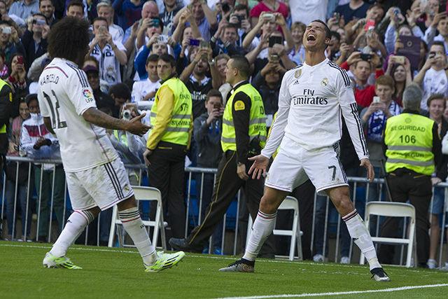 Cristiano obtuvo su mayor anotación de goles en un partido con el Real Madrid ¿Cuál fue el marcador y cuántos goles marcó?