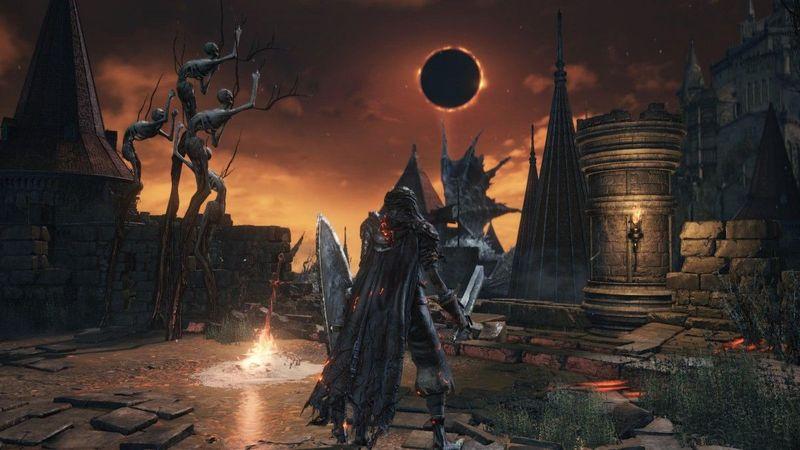 Por último, una para los veteranos de Dark Souls 1. ¿Qué representa el sol sobre Lothric en este momento de la aventura?