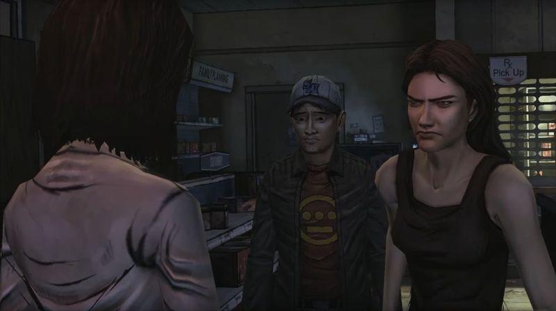 ¿Quiénes son los que saben el verdadero pasado de Lee en la farmacia?