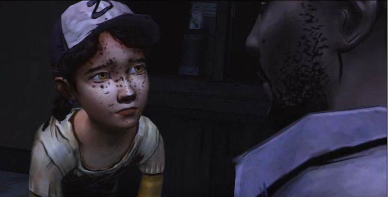 ¿Cuál es el acto final de Lee antes de despedirse de Clementine?