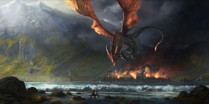 ¿Cómo se enteraron los enanos de la muerte de Smaug?