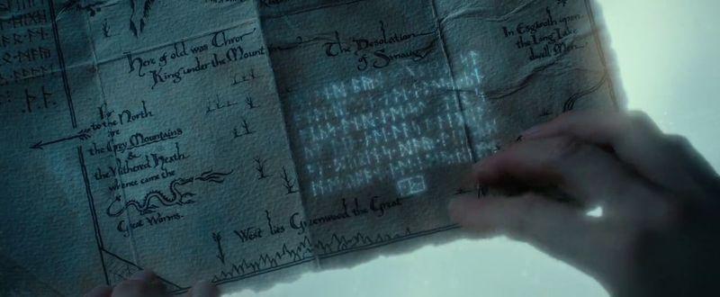 ¿Cuál de estas frases dijo Elrond al leer las runas lunares?