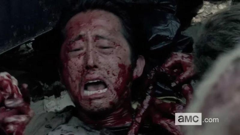 Empecemos con una fácil. ¿Cuándo y cómo muere Glenn?