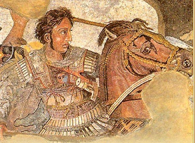 ¿En cuál de estas batallas fue Alejandro Magno vencido?