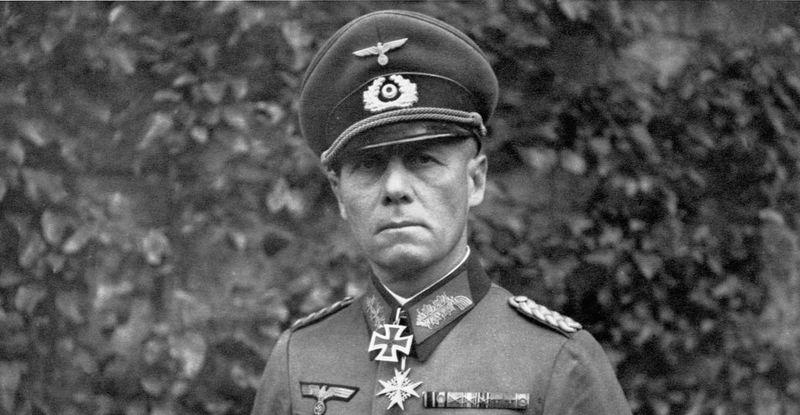 ¿En cuál de estas batallas fue Erwin Rommel vencido?