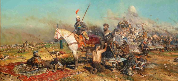 ¿En cuál de estas batallas fue Subotai vencido?