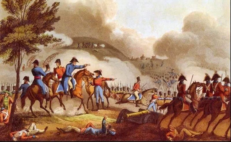 ¿En cuál de estas batallas fue Arthur Wellesley vencido?