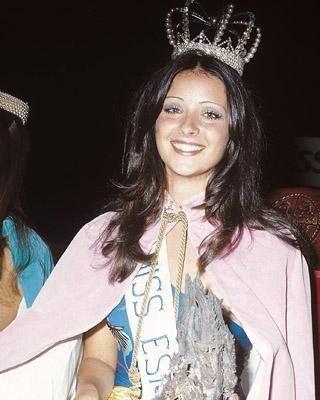 De 1970 a 1974: ¿En qué año fue Miss España Amparo Muñoz Quesada?