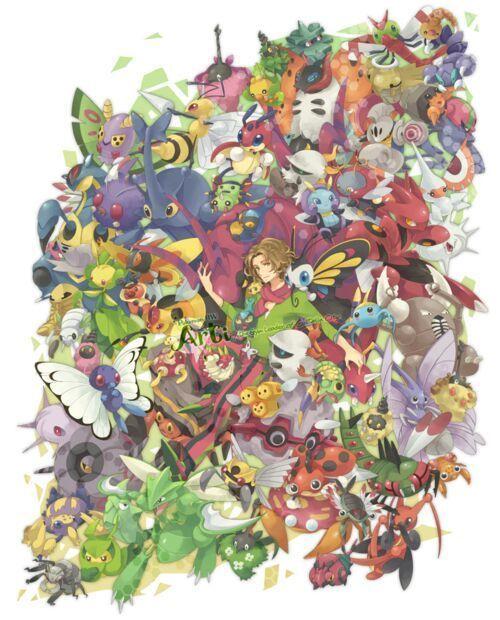 Pregunta 4, Tipo bicho : ¿Cual de estos pokemon no es herviboro?