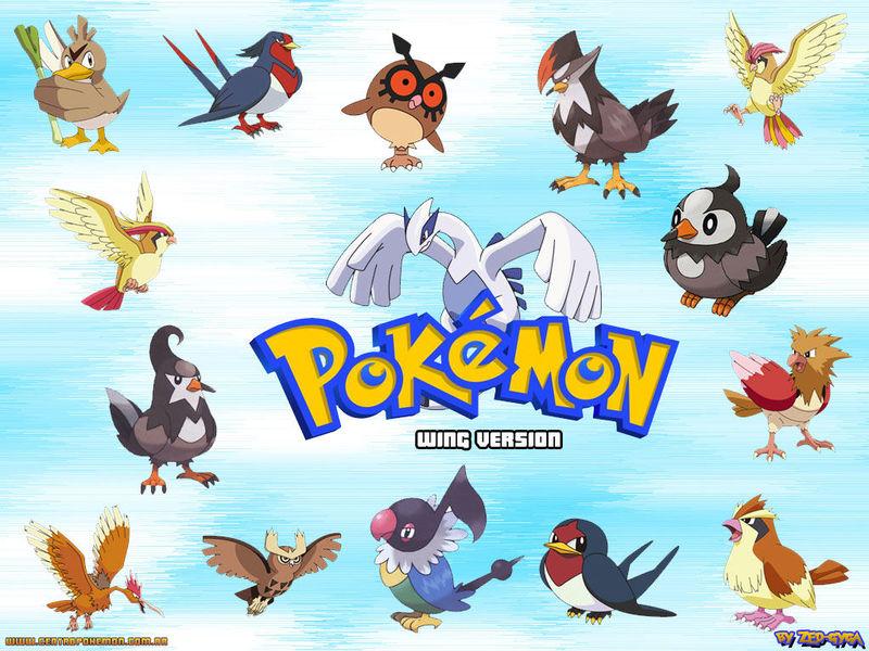Pregunta 5, tipo volador : ¿cual de estos pokemon es mas vulnerable ante los predadores?