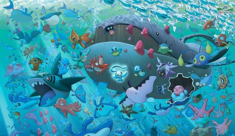 Pregunta 6, tipo agua : ¿Cual de estos pokemon no son comestibles?