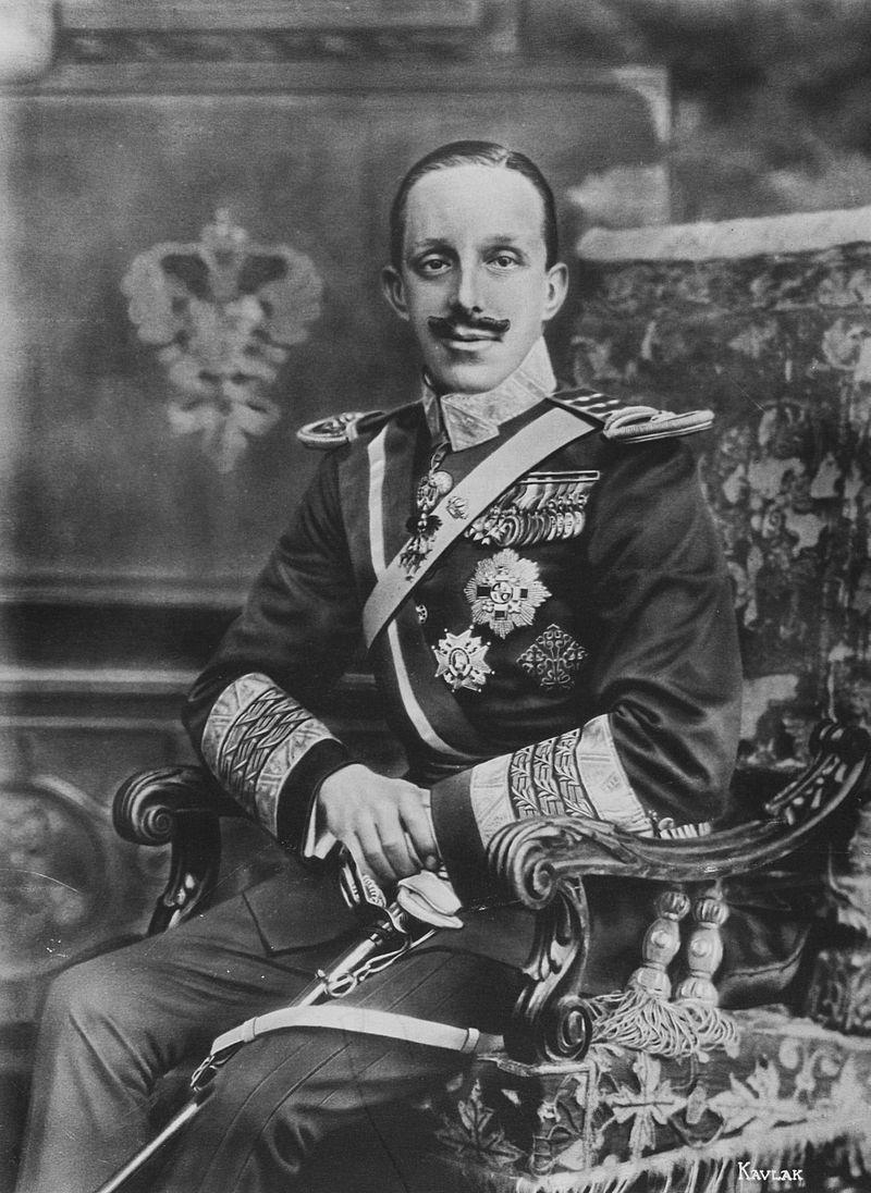 ¿Quién reinaba en España a comienzos de este siglo (XX)?