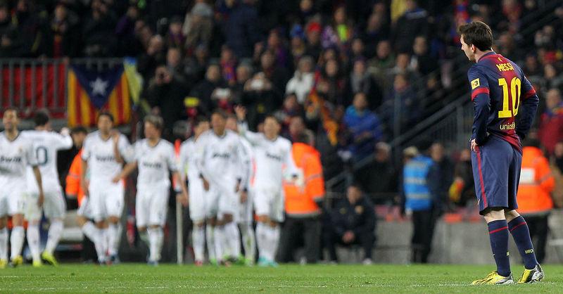 Semifinales de la Copa del Rey. ¿Cuál fue el marcador global? ¿Qué jugador marcó en ambos partidos?