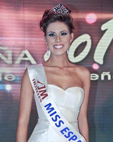 De 2010 a 2014: ¿En qué año fue Miss España Andrea Huisgen Serrano?