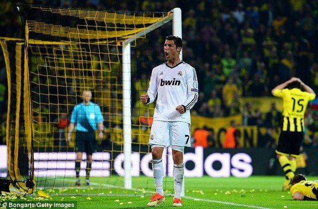 ¿Quién asistió a Cristiano Ronaldo en el único gol marcado en Dortmund en la ida de las semifinales de Champions?