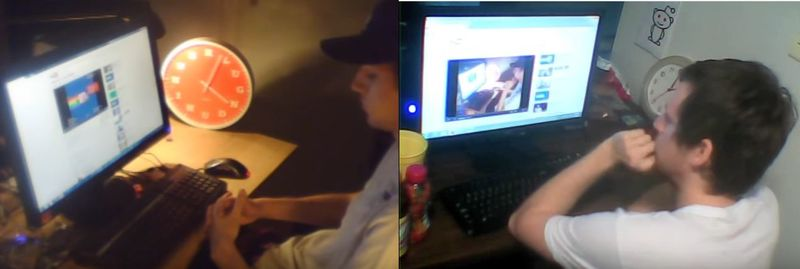 Vídeo reacción al vídeo de Nyan Cat de 10 horas VS el vídeo reacción a este vídeo reacción