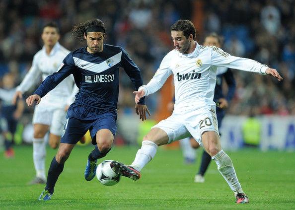 Ida de octavos de Copa del Rey. ¿Cuál era el marcador en el descanso en el choque entre Real Madrid y Málaga?