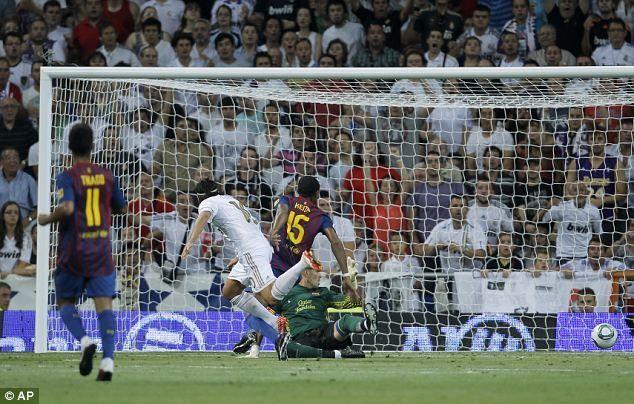 ¿Quién marcó el gol del definitivo empate en la ida de la Supercopa de España ante el Barcelona? ¿Cuál fue el marcador final?