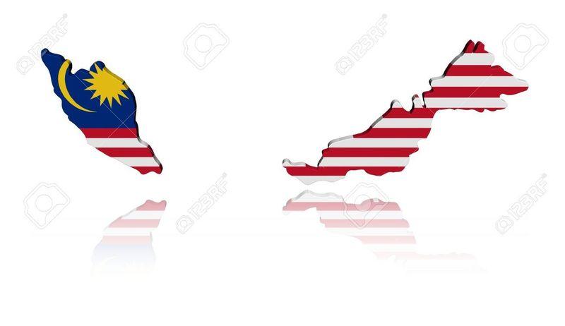 ¿Con qué país no limita Malasia?