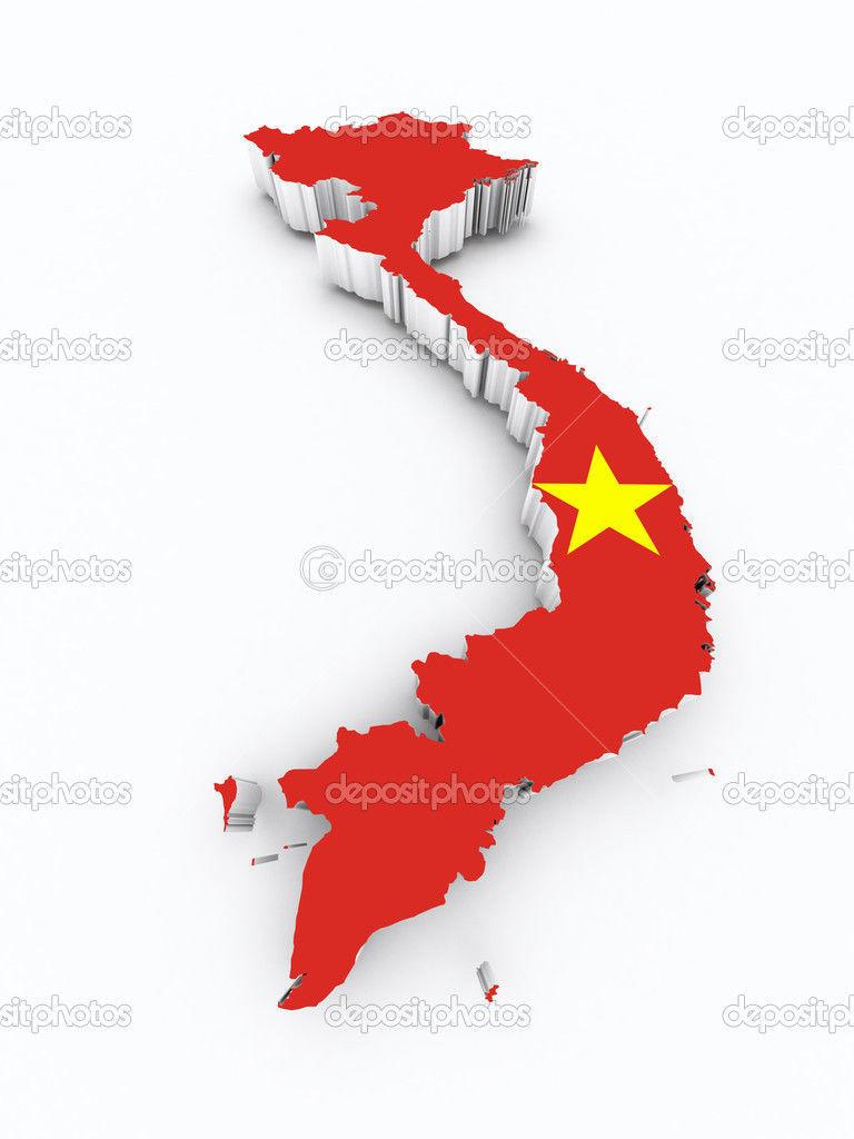 ¿Con qué país NO limita Vietnam?