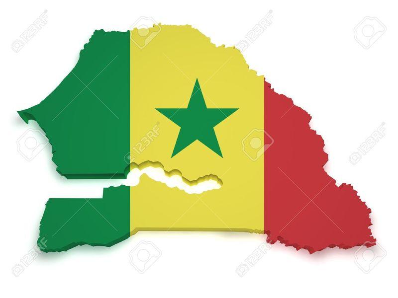 ¿Con qué país NO limita Senegal?