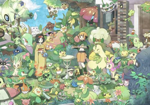 Pregunta 10, Tipo planta : uno de estos pokemon no tiene la capacidad de camuflarse : ¿Cual?