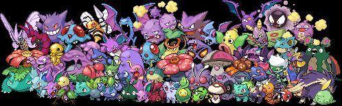 Pregunta 11, tipo veneno : ¿Que forma de pokemon se encuentra mas en el tipo veneno?