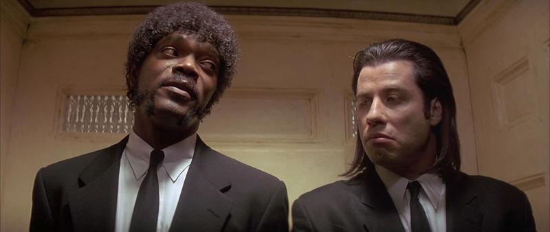 1994, Pulp Fiction/Tiempos Violentos (el Óscar se lo llevó Forrest Gump).