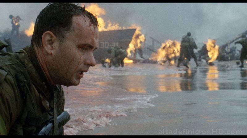 1998, Salvar al Soldado Ryan/Rescatando al Soldado Ryan (el Óscar se lo llevó Shakespeare in Love).