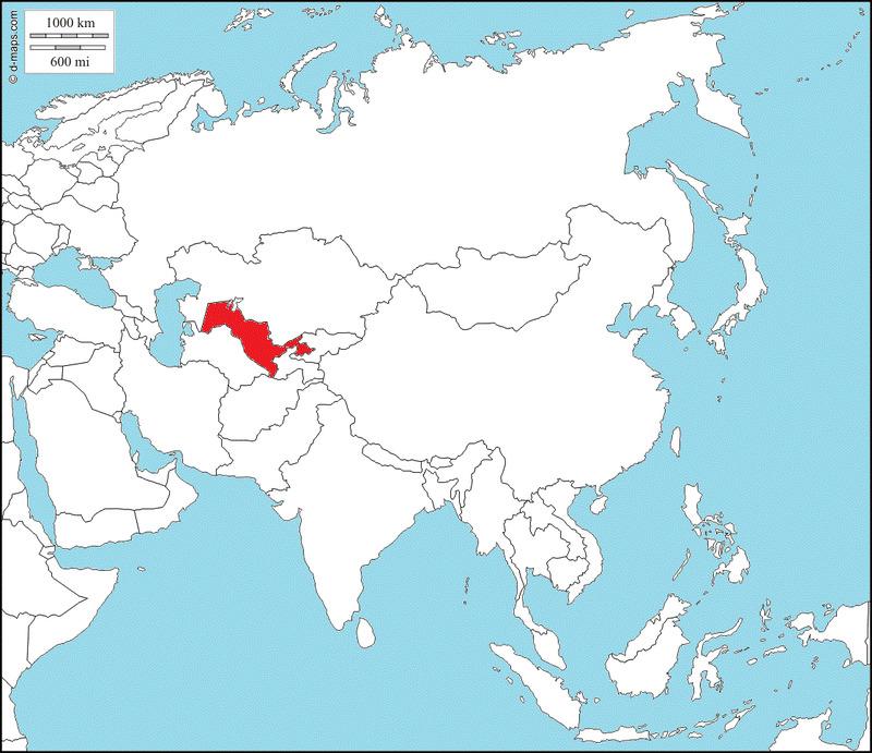 ¿Qué país es el rojo?