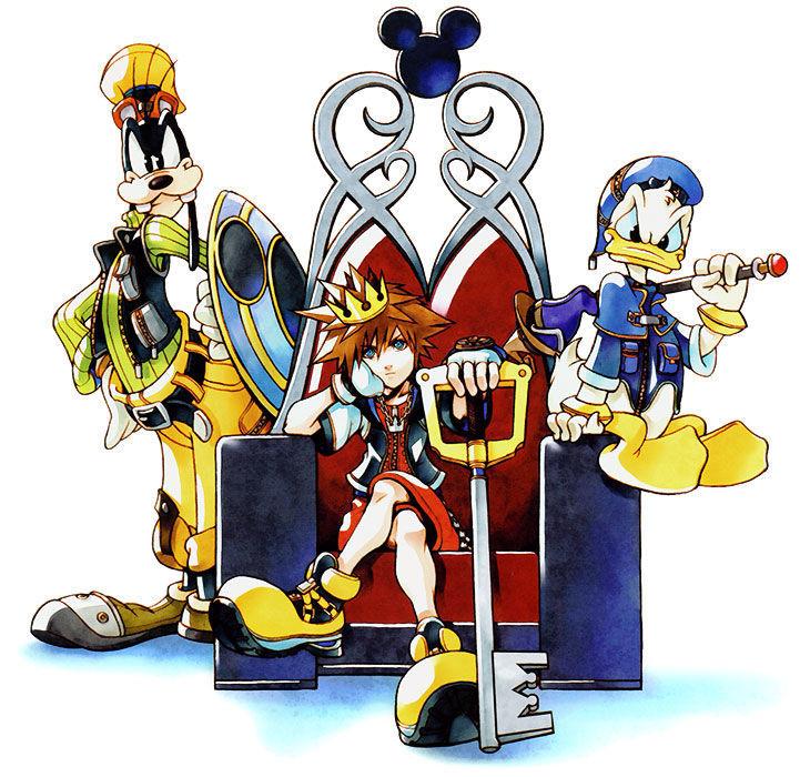 ¿Cómo conoces a Donald y Goofy?