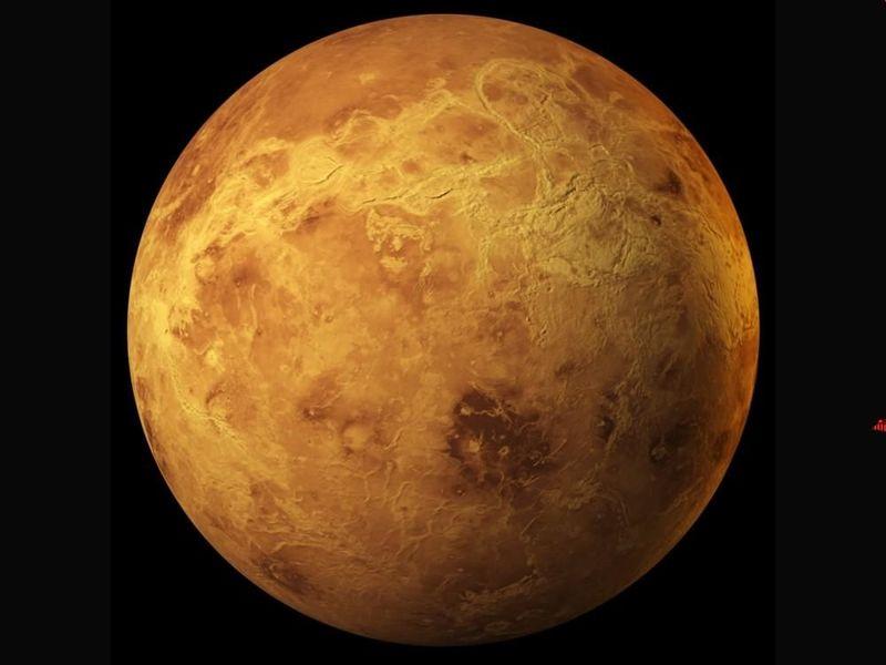 Es el planeta más caliente del sistema solar y muy parecido a la Tierra