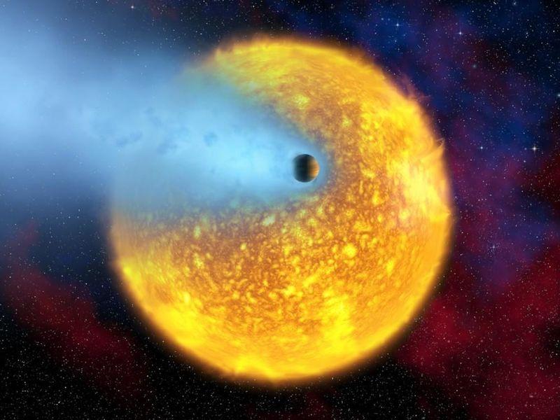 Este planeta había sido designado en un principio con el nombre de un dios egipcio. ¿Sabes cuál es?