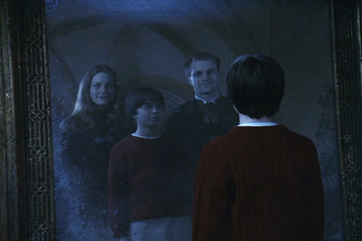 ¿Que ve Dumbledore en el espejo de Oesed?